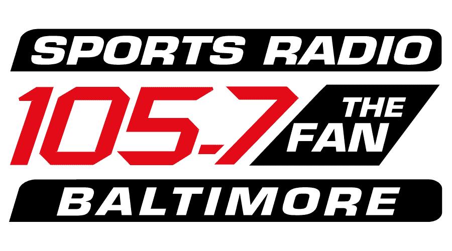 Sports Radio 105.7 The Fan Baltimore Vector Logo - (.SVG + .PNG) -  VectorLogoSeek.Com